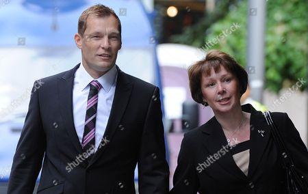 PC Simon Harwood with wife Helen