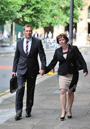PC Simon Harwood and wife Helen