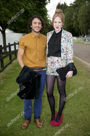 Marc Elliot with Zoe Boyle