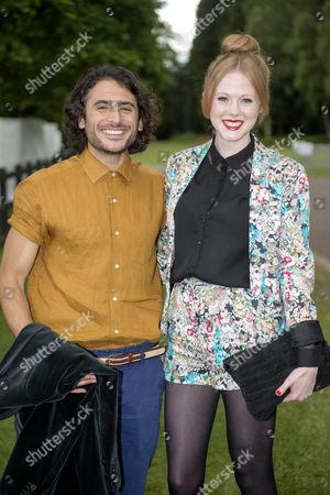 Stock Photo of Marc Elliot with Zoe Boyle
