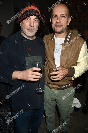 Ron Arad and Mark Quinn