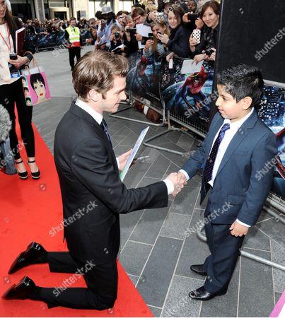 Editorial picture of 'The Amazing Spider-Man' film premiere, London, Britain - 18 Jun 2012