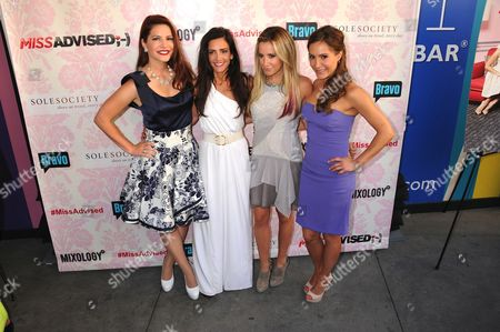 Julia Allison, Emily Morse, Ashley Tisdale, Amy Laurent