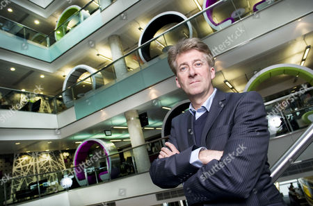 Editorial image of Director General of BBC North, Peter Salmon at Quay House, Media City, BBC Salford, Britain - Apr 2012