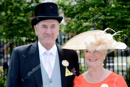 Russ Abbot and wife Trish