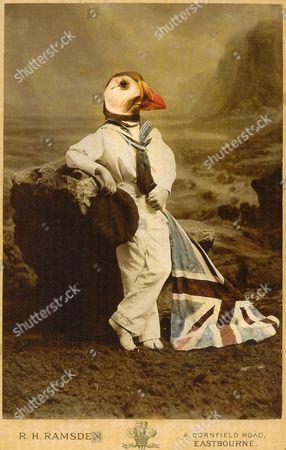A Charlotte Cory 'Vistorian', titled 'Union Jack'