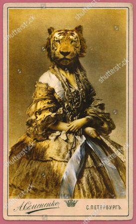 A Charlotte Cory 'Vistorian', titled 'I, Tigress'
