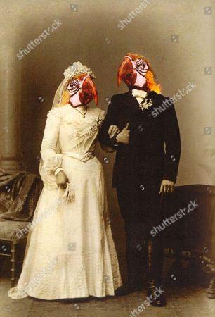 A Charlotte Cory 'Vistorian', titled 'The Greenwich Wedding'