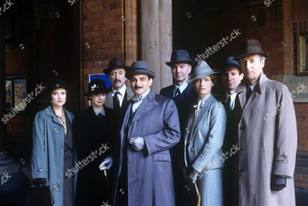Editorial photo of 'Agatha Christie - Poirot - The ABC Murders' TV Programme. - 1992