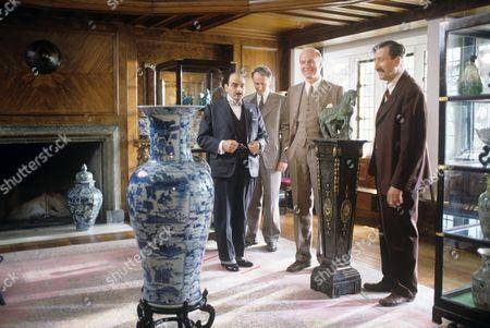 David Suchet, Hugh Frase, Donald Douglas and Philip Jackson