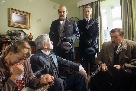 John Breslin,David Suchet, Hugh Fraser and Philip Jackson
