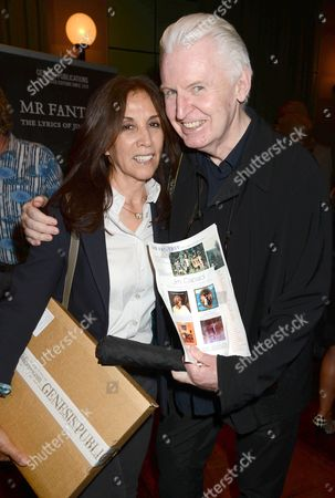 Olivia Harrison and Mike McCartney