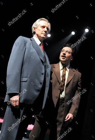 Patrick Drury as Willy Brandt and Aidan McArdle as Gunter Guillaume,