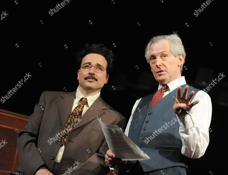 Aidan McArdle as Gunter Guillaume and Patrick Drury as Willy Brandt