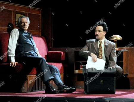 Editorial photo of 'Democracy' play performed at The Old Vic Theatre, London, Britain - 19 Jun 2012