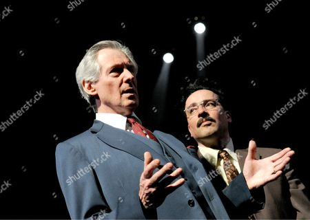 Patrick Drury as Willy Brandt and Aidan McArdle as Gunter Guillaume