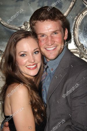 Laura Osnes and Claybourne Elder