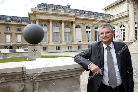 Newly elected Socialist Party (PS) dissident MP Olivier Falorni at the French national assembly