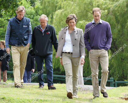 Damian Aspinall, Charlie Mayhew of Tusk Trust, Kate Silverton and Prince William