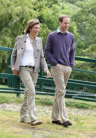 Prince William gives an interview to BBC's Kate Silverton