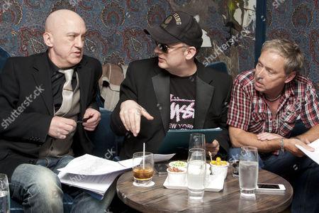 Stock Photo of Mark Davies Markham (Author), Boy George (Music and Lyrics) and Christopher Renshaw (Director)