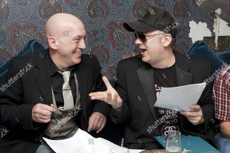 Editorial picture of First script read-through for 'Taboo' Play at the Hospital Club, London, Britain - 20 Jun 2012