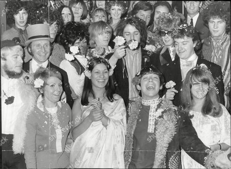 Editorial photo of Wedding of Eric Burdon and Angie King, London, Britain - 07 Sep 1967