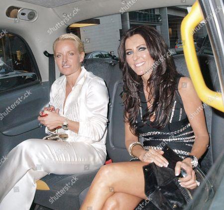 Davinia Taylor and friend