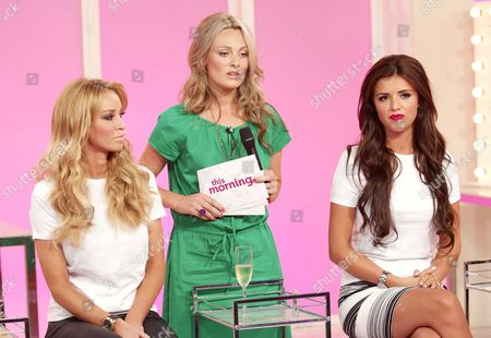 Lauren Pope, Sarah Jagger and Lucy Mecklenburgh