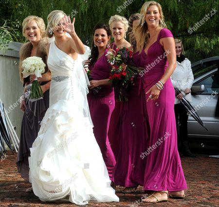 Editorial picture of Wedding of Ernst Joubert and Minki van der Westhuizen, Wellington, South Africa - 08 Jun 2012