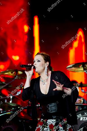 Stock Picture of Nightwish - Anette Olzon