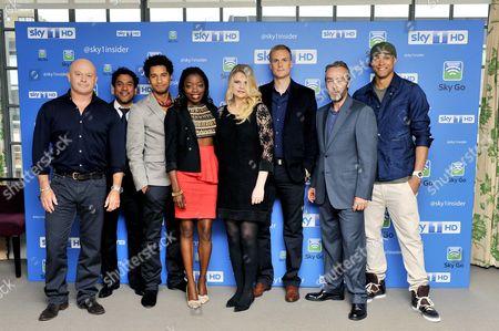 Ross Kemp, Naveen Andrews, Elliot Knight, Estella Daniels, Rebekah Staton, Darren Boyd, John Hannah and Ashley Banjo