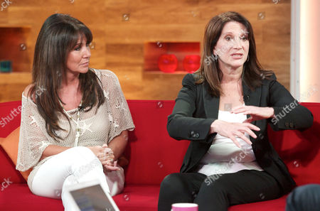 Stock Picture of Linda Lusardi and Lynn Featherstone