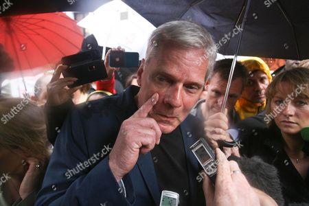 Editorial image of Julian Assange requests asylum at Embassy of Ecuador, London, Britain - 21 Jun 2012