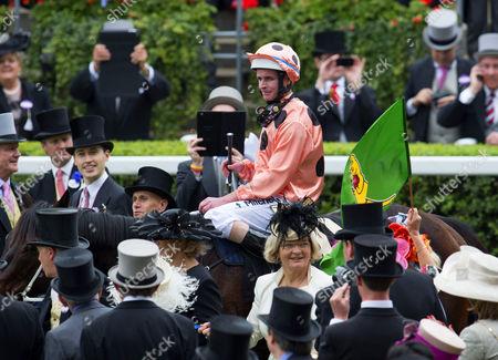 Luke Nolen, jockey of Black Caviar
