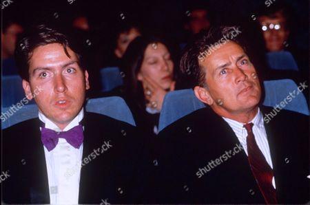 MARTIN SHEEN WITH HIS SON RAMON ESTEVEZ