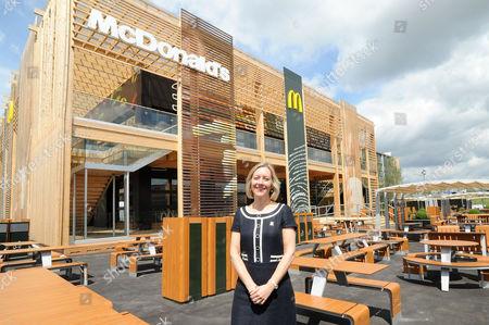 Jill McDonald CEO McDonald's UK