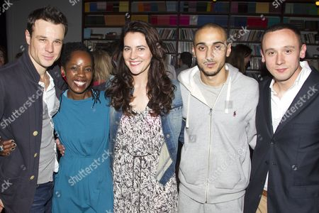Rupert Evans (Gerald), Lorna Brown (Kieran's Mum), Louise Delamere (Amanda), Aymen Hamdouchi (Kieran) and Jason Maza (Jason)