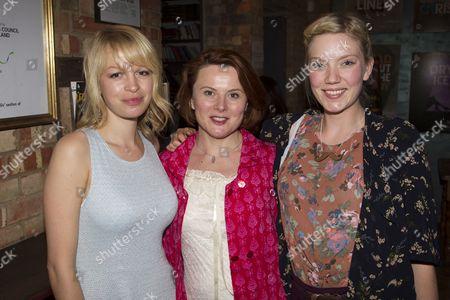Sian Breckin, Monica Doan and Robyn Addison