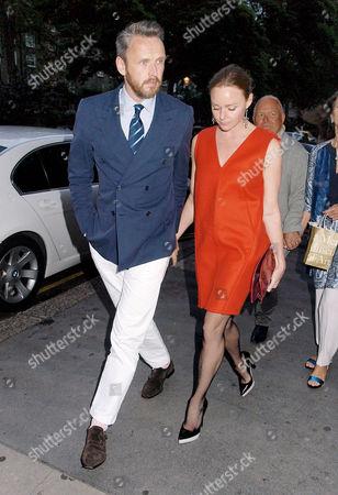 Stock Image of Alasdhair Willis and Stella McCartney