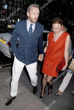 Stock Photo of Alasdhair Willis and Stella McCartney