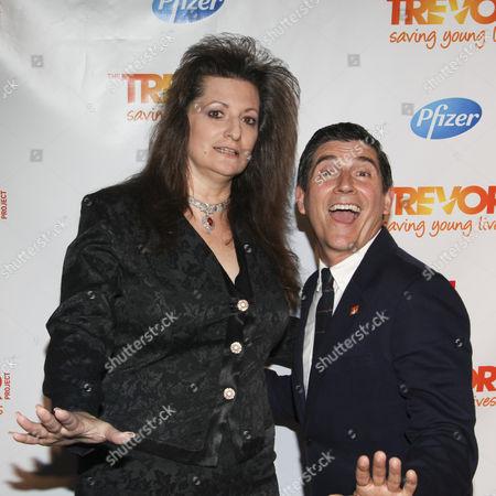 Editorial photo of Trevor Live, New York, America - 25 Jun 2012