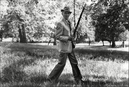 Actor Peter Cushing