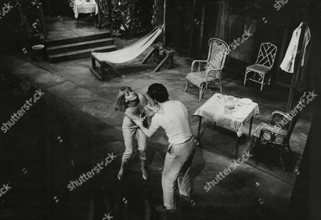 Plays: Night Of The Iguana Rev. Shannon (mark Eden) Fends Off Charlotte Goodall (patricia Shakesby)