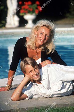 MARIETTA PARFITT WITH HER SON RICHARD