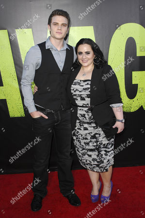 Stock Picture of Cameron Deane Stewart and Nikki Blonsky