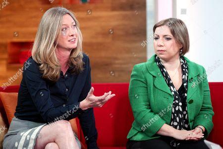 Justine Roberts and Sarah Teather