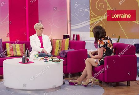 Mary Rand and Lorraine Kelly