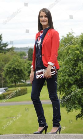 Foto de Former Miss Inverness Ceilidh Watson at the launch of the Better Together Campaign