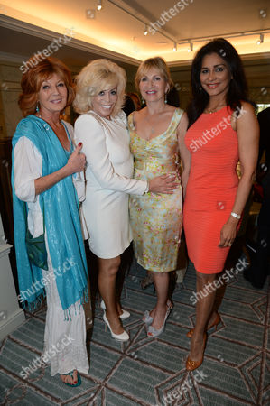 Ruka Lenska, Lisa Voice, guest and Wilnelia Merced (Lady Forsyth-Johnson)